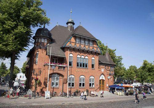 Rathaus Burg auf Fehmarn